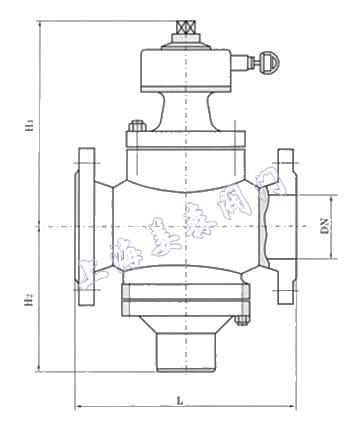平衡阀,用于需要进行流量控制的水系统中,尤其适用于供热,空调等非图片